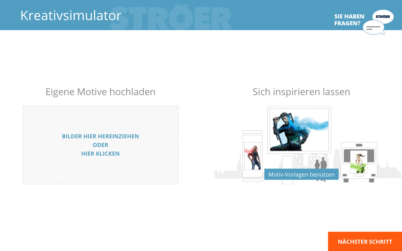 Interactive tools for outdoor advertising | UEBERBIT