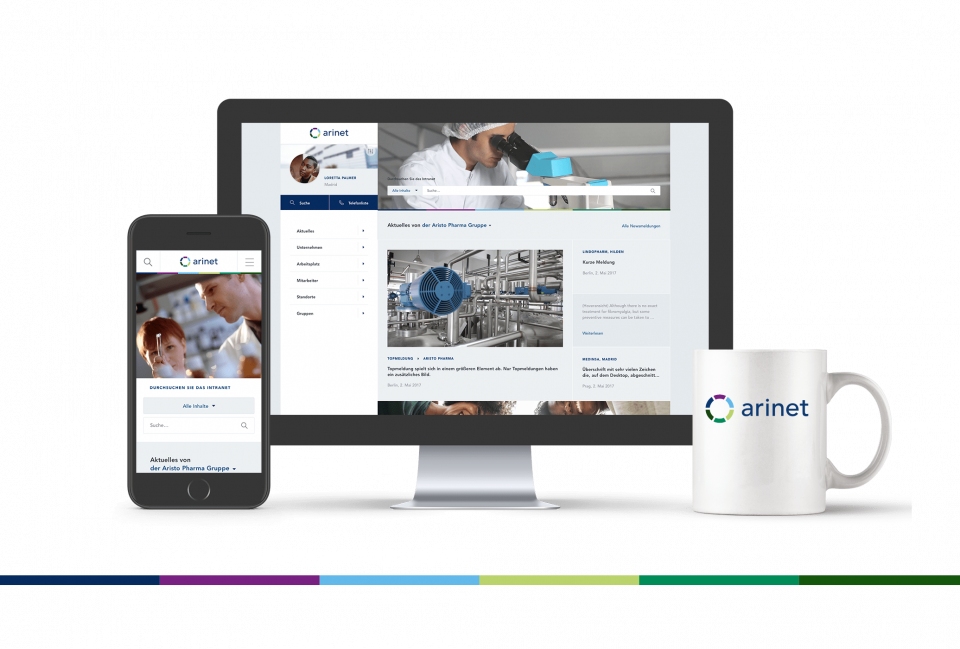 Intranet Aristo Pharma