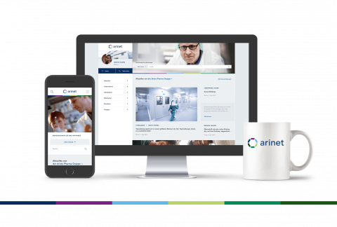 Aristo Pharma Social Intranet - Responsive