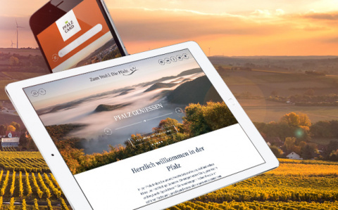 New platform for wine and tourism marketing of pfalz.de